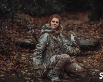 Ygritte (Game of Thrones) Print by Skunk and Weasel