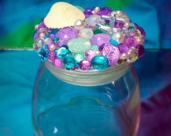 Mermaid Stash Jar   seaweed stash   weed accessories
