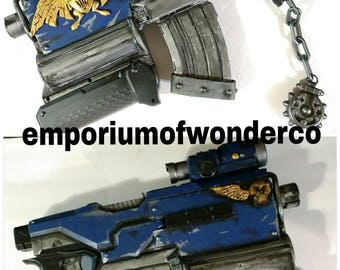 Warhammer Bolter... Nerf Demolisher 2n1