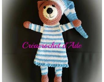 Doudou flat Teddy bear