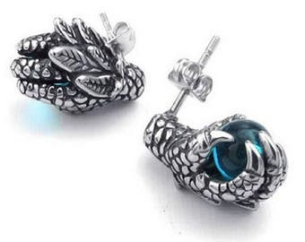 Dragon claw earrings