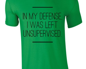 In My Defense Men's T-shirt