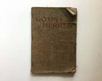 Antique Gospel Herald Book (1899)