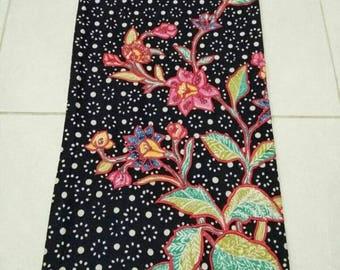 Embroided batik