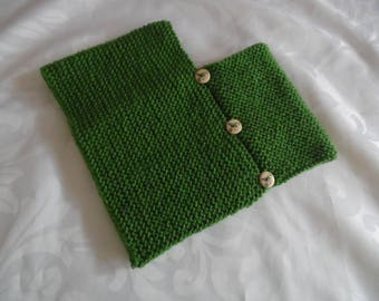 Color Olive Green baby poncho size 1 to 3 months