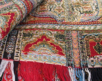 1880's Kashmir Shawl. Museum quality.