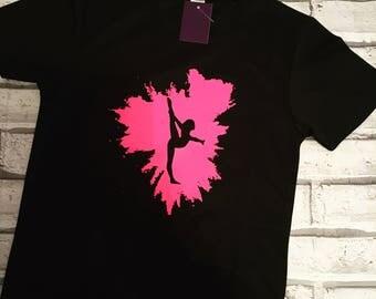 Coolfit Gymnast Splash Tshirt