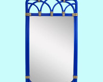 Mid-Century Palm Beach Style Mirror