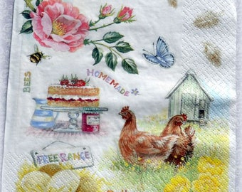 Napkins for decoupage,scrapbooking,paper napkin