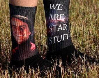 Carl Sagan Star Stuff Socks