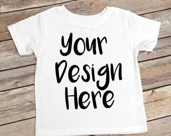 Kids Custom Your Design Here Shirts