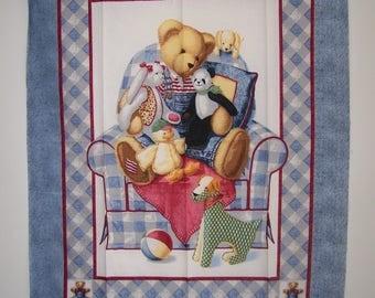 Blue Jean Teddy-Chair Bear