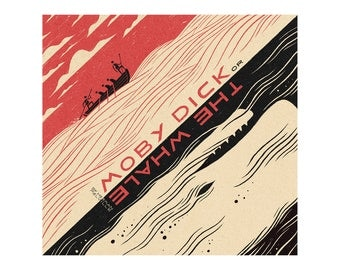 Poster - Moby Dick - blanket - 1930 - fine art gallery