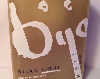 Bijan Light Cologne For Men Eau De Toilette Spray 2.5oz Alcohol Free