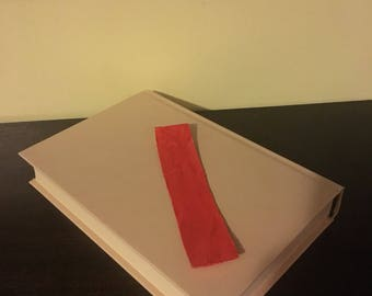 Simple Red Bookmark