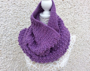 Crochet Bobble Cowl