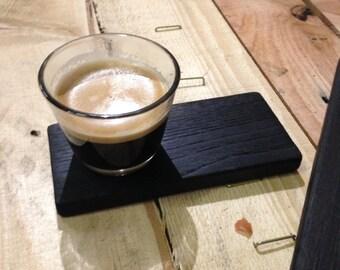 Burnt chestnut coffee saucer