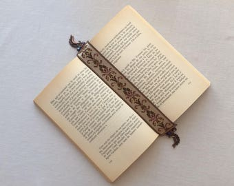 Brand pages-book-bookmark book jewelry gift former player-tissu-Cristal-Lune-Ruban-France-Lecture-Accessoire reading bookmark