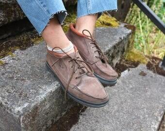 Vintage Dockers Leather Boots Unisex