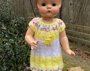 Effanbee Patsy chicky dress