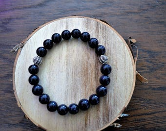 7 Deadly Sins Natural Stone Galaxy Star Blue Bracelet