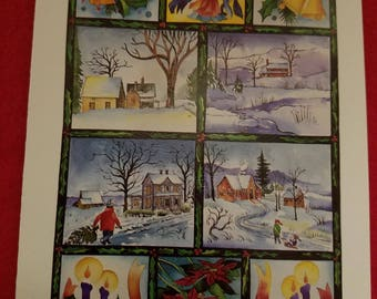 HolidayScenes by B. Wikstrom, Handi-Card , Christmas