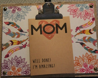 ClemmieLouCards -Mom. Well done.  I'm AMAZING.  - greeting card