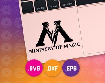 ministry magic svg, magic dxf, magic cut files, magic eps, magic cameo, magic cricut, harry potter, deathly hallows svg