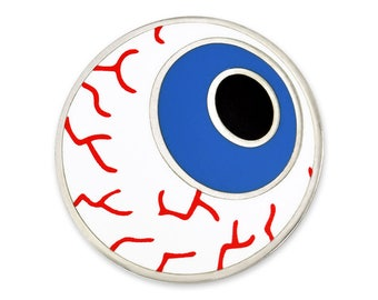 PinMart's The Human Eyeball Medical Enamel Lapel Pin