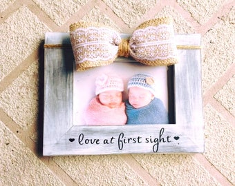 Love at first sight baby frame Nursery frame