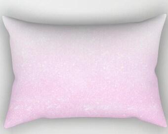 Decorative throw pillow | Rectangular | Cover + Insert - Millennial Pink
