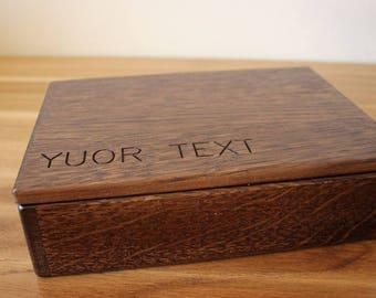 "Personalized Photo Box 4""x6"" 5x7 6x8 (10x15 cm 13x18 15x20) Pic, Wooden photo box . Wooden box. Photo box . Memory box."