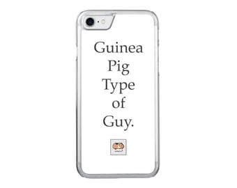 Guinea Pig Type of Guy
