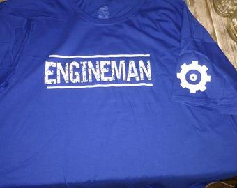 Navy engineman t-shirt with piston cog