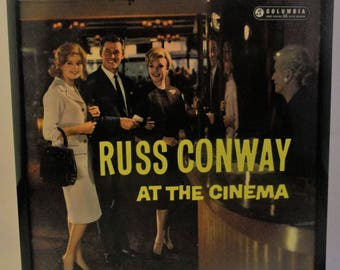 Framed Vintage Album - Another fabulous Russ Conway cover - Cool and Kitsch.