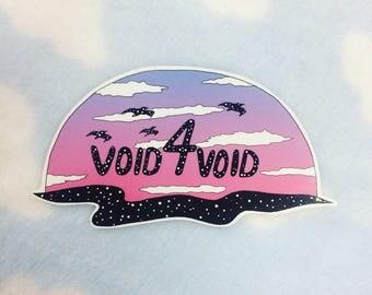 VOID4VOID sticker