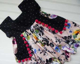 Tunic with Pockets // 3T // Handmade
