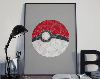 Pokemon Wall Decor pokemon wall art | etsy