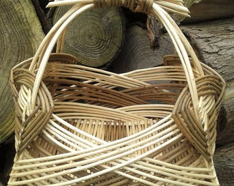 Zarzo Square Basket, Willow Basket