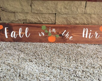 Fall Is in the Air Wall Decor