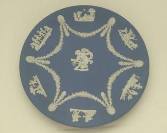 Vintage Wedgwood Jasperware Cupid Plate