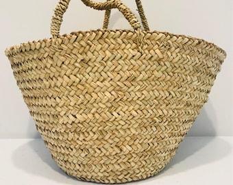 Berber - Medium Plain French Style Basket