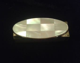 STRATTON Mother of Pearl Lipstick Holder