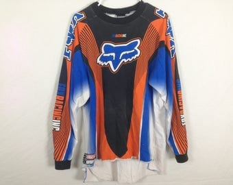 Fox racing motocross jersey size L