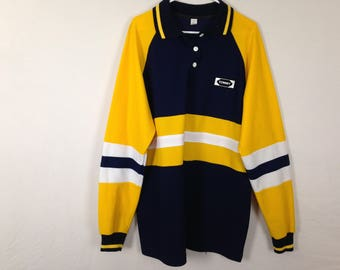 tommy hilfiger long sleeve polo shirt size XL