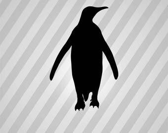 Penguin Silhouette Etsy