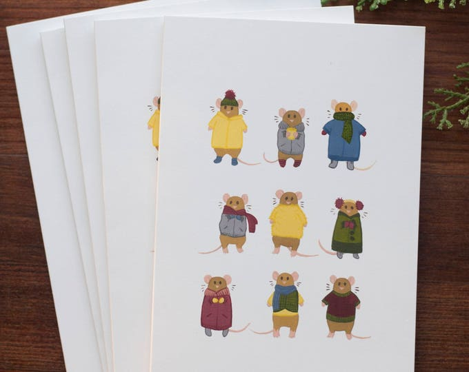 Sweater Weather Greeting Card [Set of 5]