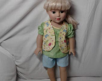 American made doll clothing 18inch