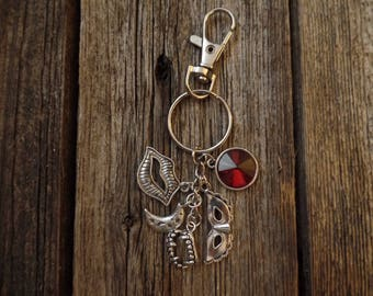 The Vampire Diaries Katherine Pierce Inspired Keychain