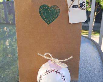 2 Gender Reveal Baseballs